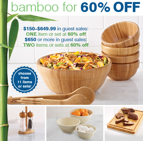 pampered chef promo